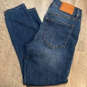 Lucky Brand mid rise crop denim jeans 6/28